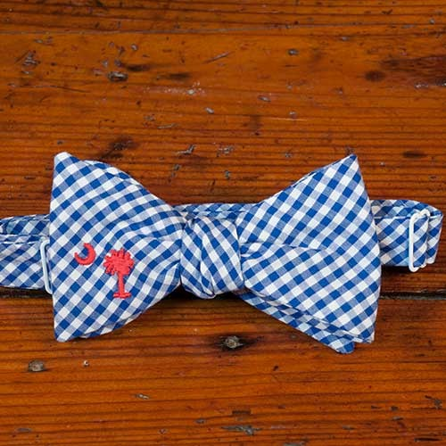 Red Palmetto Bow Tie